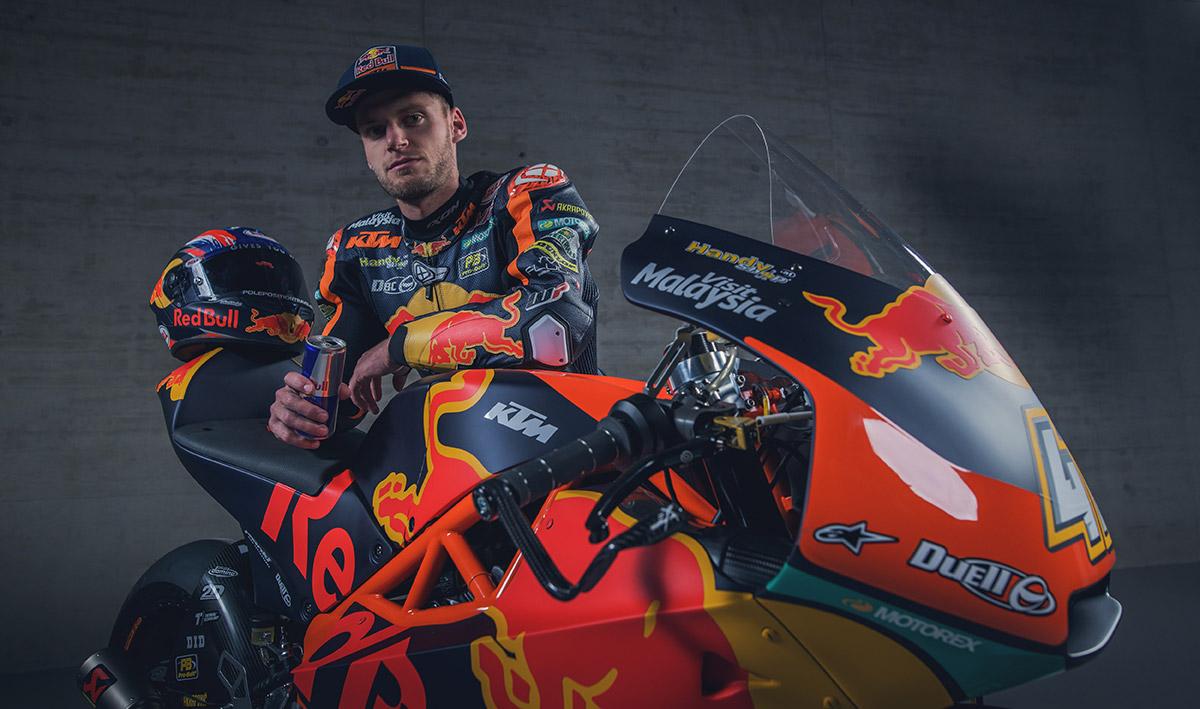 Moto3: Darryn Binder makes KTM debut   News   Crash