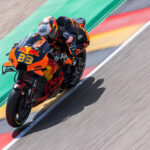 Brad Binder just 3 tenths of a second from Q2 and lines-up in 13th for the #GermanGP