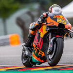 Superb fourth place for Brad at the Sachsenring
