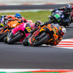Brad stages race day charge to take ninth in the San Marino GP